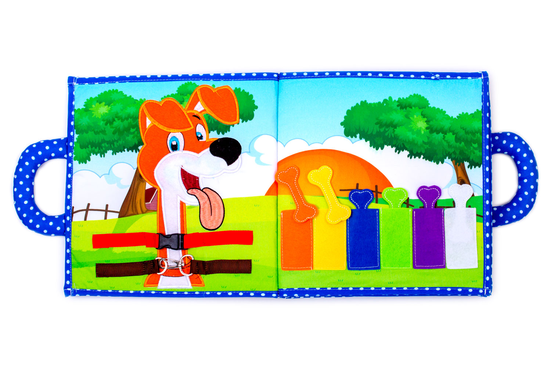 Interaktivní Dětská Textilní Kniha Piqipi: Edice Šteňe