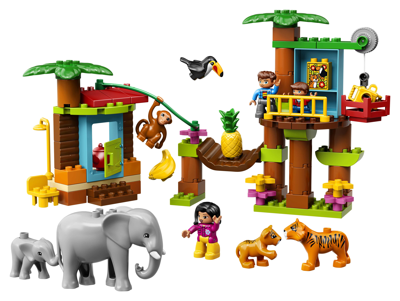 LEGO® DUPLO® Město 10906 Tropický ostrov