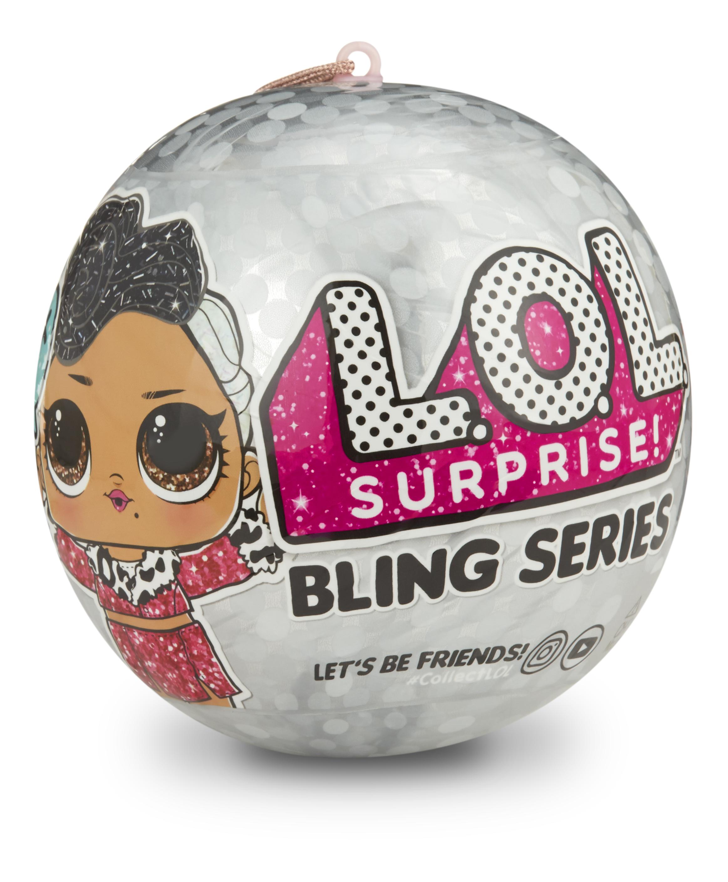 L.O.L. Surprise! Slavnostní třpytková panenka