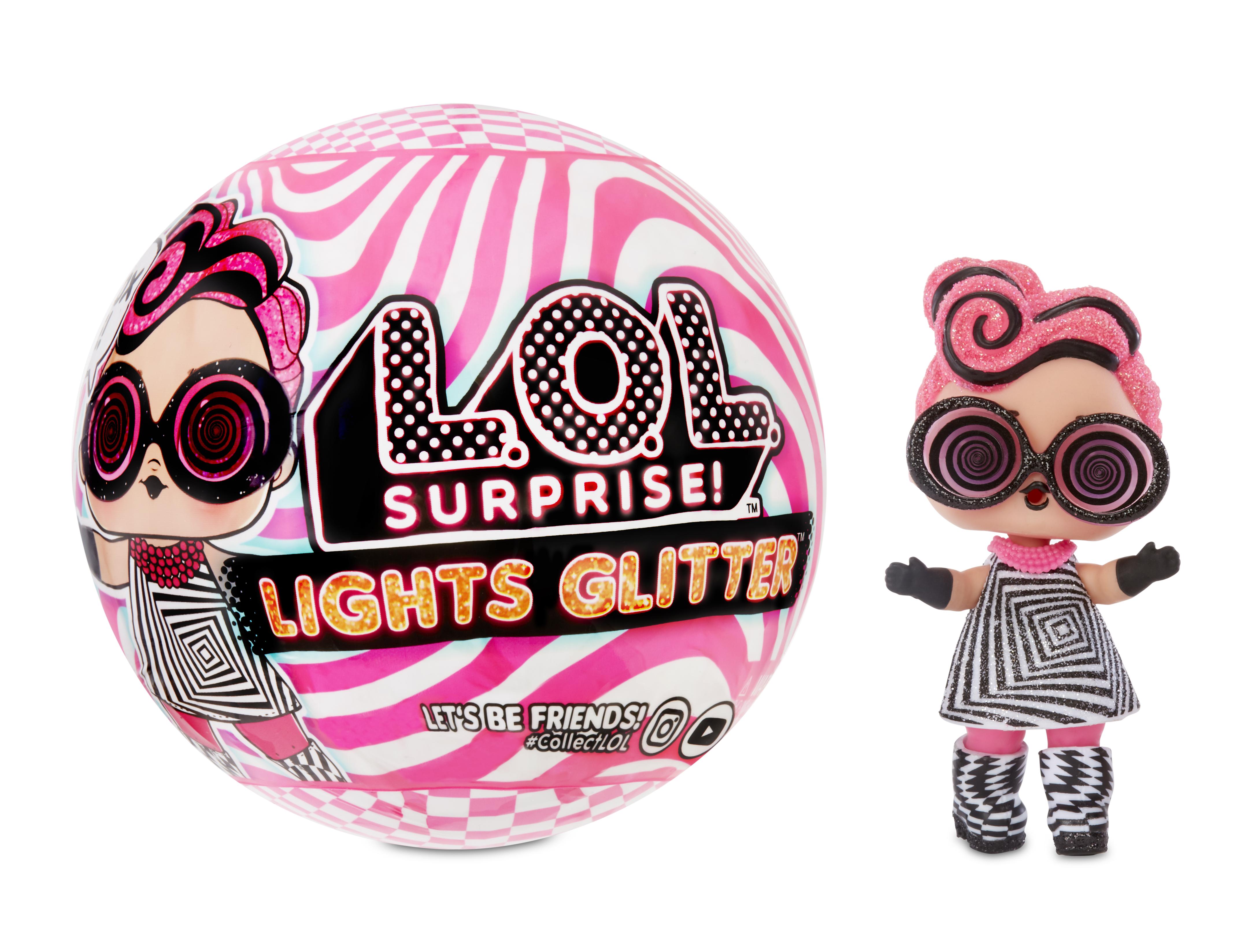 L.O.L. Surprise! Neonová třpytková panenka