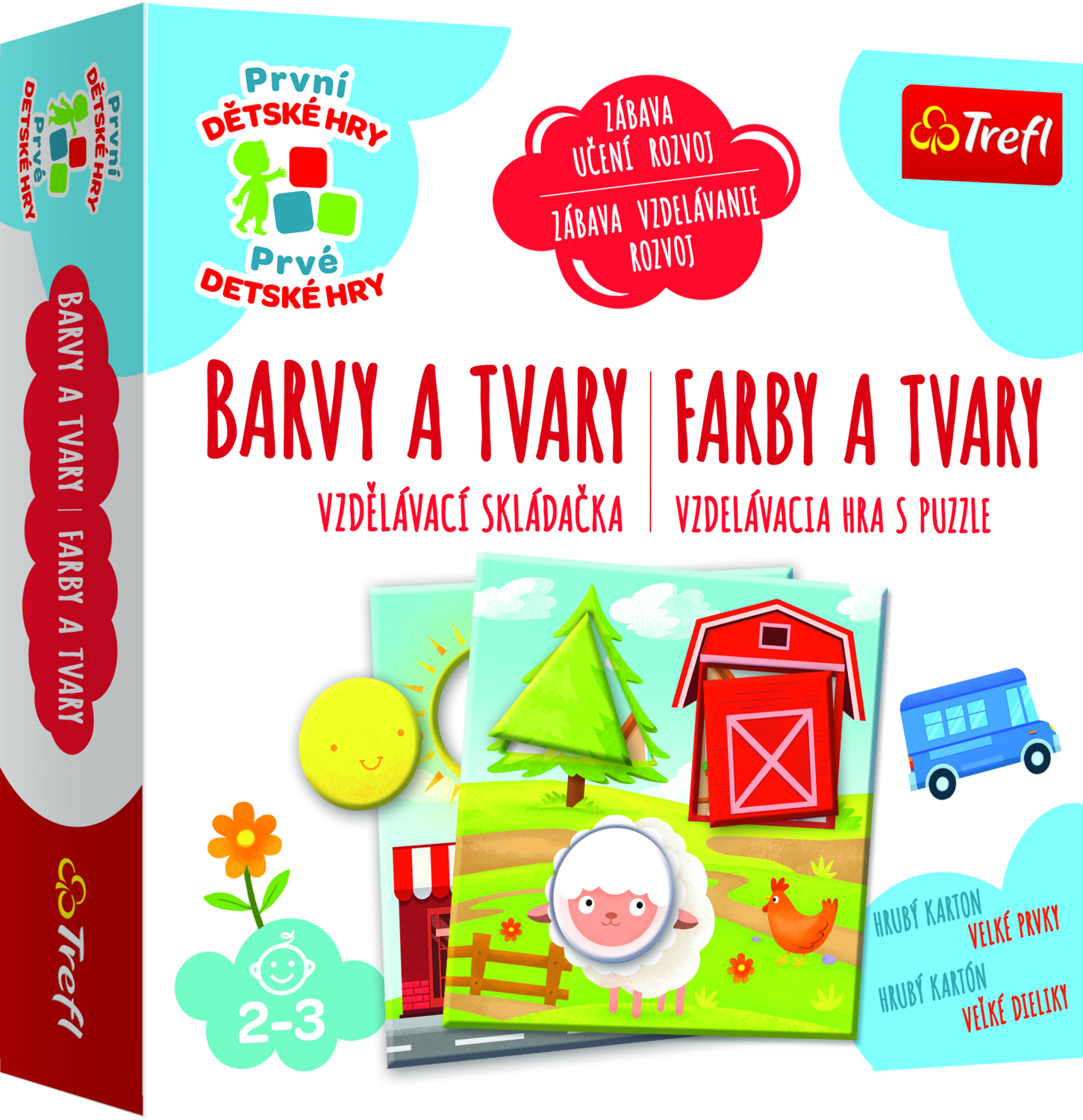 Barvy a Tvary - Toddler ABC