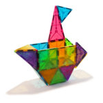 # 02132 Magna-Tiles Clear Colors Boat