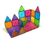 # 02132 Magna-Tiles Clear Colors Building