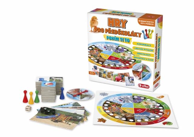 Hry pro předškoláky - Povím ti to