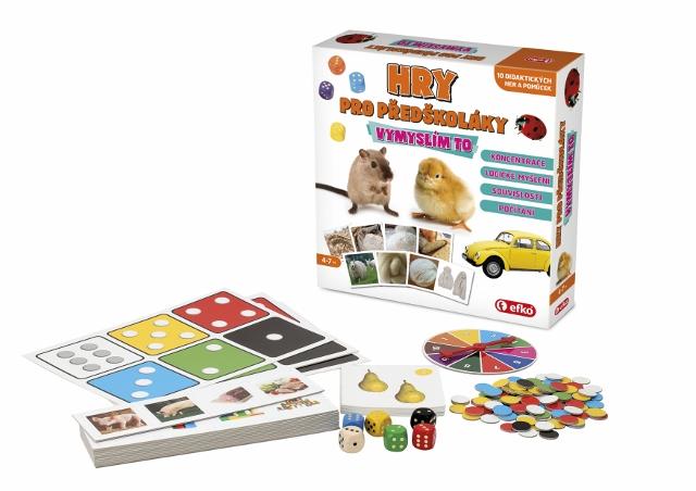 Hry pro předškoláky - Vymyslím to
