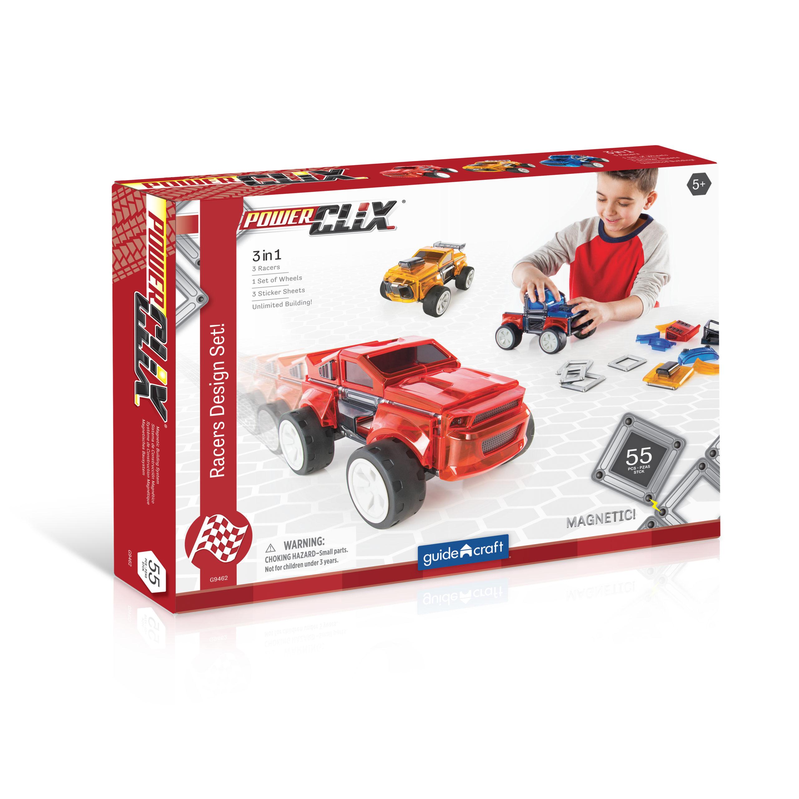 PowerClix® Závodní auta