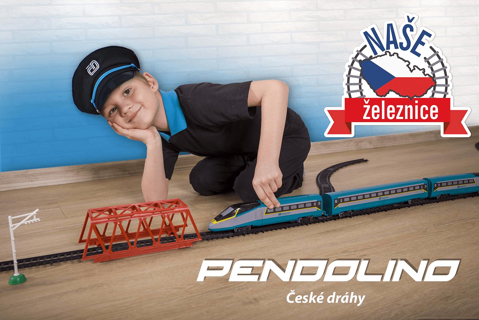Vlak České dráhy SC Pendolino